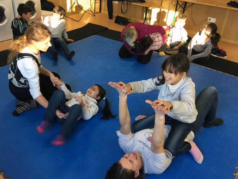 Original Play im Asylwerber*innenhaus Amstetten, 2016