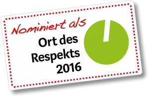 Logo Orte des Respekts 2016