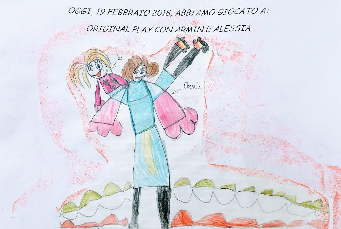 Spielen mit Armin in Udine