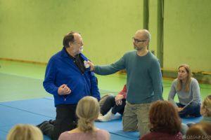 Mit Fred beim Workshop in Salzburg