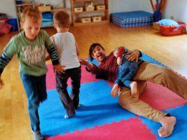 Original Play in einem Kindergarten in Wien, 2014
