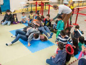 Original Play im Asylwerber*innenlager Flughafen Schwechat, 2015